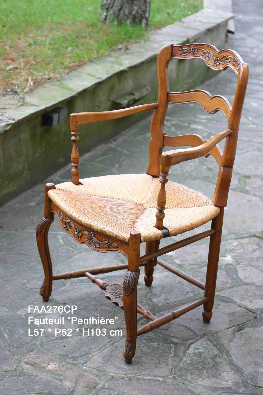 rempaillage de chaise vers Nice